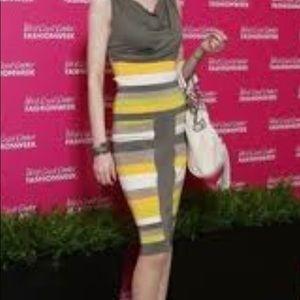 Karen Millen yellow and gray